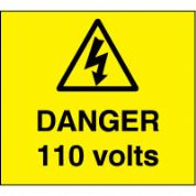 Warn087 - Danger 110 Volts 3